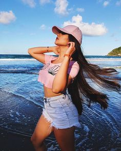 Tumblr Photography, Photography Poses, Picture Poses, Photo Poses, Tmblr Girl, Cap Girl, Foto Casual, Beach Poses, Instagram Pose