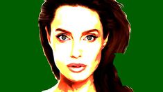 729c00e6 Angelina Jolie Painted Photo by Smart Ht Angelina Jolie, Profile, User  Profile