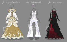 Custom Outfits #15 by Nahemii-san on DeviantArt