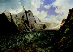 Thomas Ender - the Grossglockner with the Pasterze Glacier