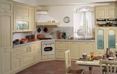 Cucine in stile country - Fotogallery Number Of Countries, Cottage Style, Country Style, Kitchen Cabinets, Interior Design, Home Decor, Style Ideas, Kitchen Ideas, Kitchens