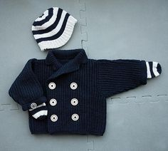 nautical baby knits