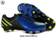 Dark Blue-Green-Black Adidas Predator LZ TRX FG