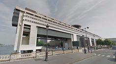 Ministère de l'Économie et des Finances - 1989 by Paul Chemetov et Borja Huidobro - #architecture #googlestreetview #googlemaps #googlestreet #france #paris #brutalism #modernism