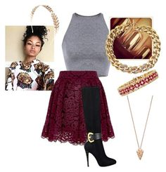 """Party"" by shaziwazi on Polyvore featuring GUESS, Michael Kors, Pamela Love, Effy Jewelry, Wet Seal, party and parisapartment"