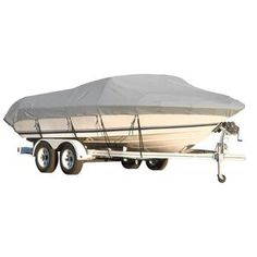 """V-Hull Runabout Bow Rider Trailerable Boat Cover 17/'5/"""" to 18/'4/"""" Max 96/"""" Beam I//O"""