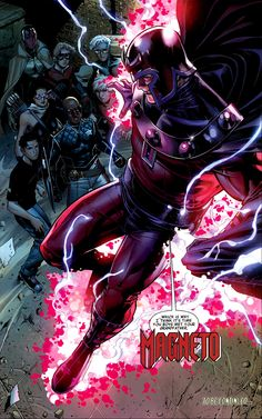 Magneto: Avengers: The Children's Crusade #