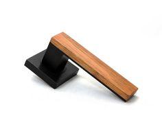 Add Texture, Warmth and Style to your Space with Timber Wooden Art, Wooden Doors, Wardrobe Door Handles, Diy Living Room Decor, Home Decor, Timber Door, Modern Houses, White Oak, Door Design