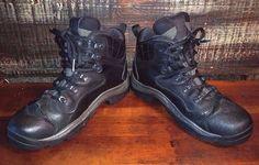 COLUMBIA SKAMANIA PASS GORE-TEX MID Black Leather Hiking Trail Boots Men's 8M #Columbia #HikingTrail