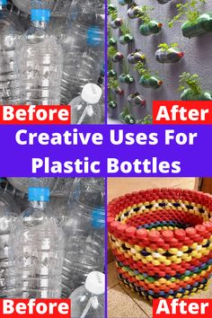 Uses For Plastic Bottles, Plastic Bottle Crafts, Plastic Recycling, Diy For Teens, Diy For Kids, Pill Bottle Crafts, Recycled Crafts, Diy Crafts, Diy Projects For Kids