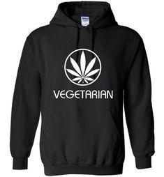 Dank Master Vegetarian Hoodie - Dank Hoodies Stoner Fashion 420