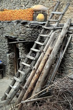 Stone village of the Qiang minority, Sichuan, China