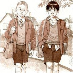 Lectura, ilustración de Carlos Fernández
