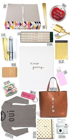 Currently Coveting  ||  Back To School Essentials - I want all of these!