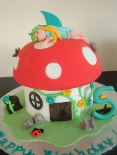Mrs Woolley's Cakes: Fairies and Firetrucks