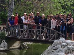 The Peoplehood group on the (living) bridge of Greece.
