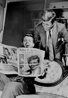 Senator John F. Kennedy and Robert Kennedy, 1950s