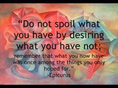 Contentment Quotes..