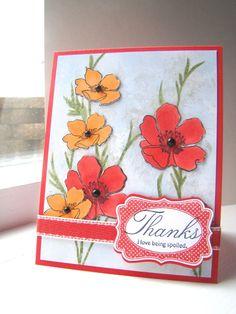 Another gorgeous Fabulous Florets card.