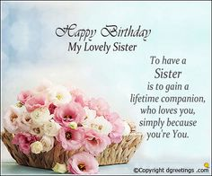 Have a beautiful day happy birthday wishes card for sister a i hope this year brings you more joy happy birthday wishes cards birthday messages for m4hsunfo