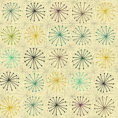 4491 Servilleta decorada Geometricos