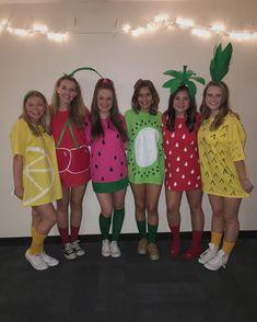 DIY Fruit Costume. Halloween. Fruits. Fruit Salad.
