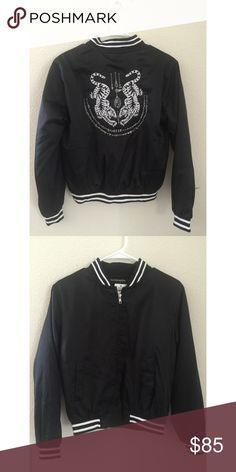Brandy Melville Liz tigger bomber jacket NWT Brandy Melville Jackets & Coats