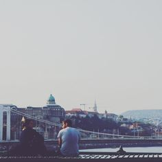 Chilling on Liberty Bridge, Budapest.    Instagram by Catch Budapest – a cityblog about Life and Language in the Hungarian Capital delivering insider information about Budapest and tips and tricks for Hungarian language learning. #catchbudapest