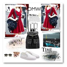 """Romwe #1/2"" by almma-karic ❤ liked on Polyvore featuring Ray-Ban, Zara, ArtWall and romwe"