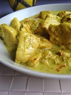 Curry de Poulet au Lait de Coco et Riz Parfumé {A l'Indienne} et une petite Surprise^^ |