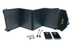 SunJack Solar Charger + Power Delivery Power Banks - Portable Solar Panel with USB for Cell Phones, Tablets for Backpacking, Camping, Hiking and Solar Energy Facts, Solar Energy For Home, Solar Panel Charger, Solar Panel System, Compare Laptops, Portable Solar Panels, Solar Battery, Gadgets And Gizmos, Alternative Energy