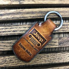 Personalized Jeep wrangler leather keychain, custom leather keyring, can be Customized, Gifts for men Custom Leather, Handmade Leather, Leather Keyring, Christmas Makes, Car Accessories, Wedding Gifts, Personalized Items, Customized Gifts, Creations