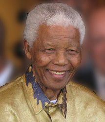 """Nelson Mandela    """"If there are dreams about a beautiful South Africa, there are also roads that lead to their goal. Two of these roads could be named Goodness and Forgiveness. """"    - Nelson Mandela"""