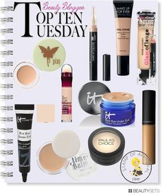 Top 10 Tuesdays: Pammy Blogs Beauty shares her Top 10 Concealers and Correctors!!! Read this if you have super dark under eye circles! http://www.pammyblogsbeauty.com #concealer #makeup #bbcoalition