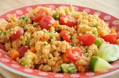 Couscous vegetariano molezinha de fazer