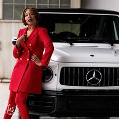 3 unique power suits. 1 inspirational initiative. Learn more about The She's Mercedes Power Suit Project and the story about shared confidence. #shesmercedesca #mercedesbenz #powersuit    Business Professional Women, Business Women, Fitness Inspiration Body, Style Inspiration, Mandala Meaning, Smoke Bombs, Celebrity Cars, Trucks And Girls, Older Women Fashion