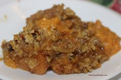 One of the best tasting sweet potatoes casseroles. A side dish so good, it could be dessert.
