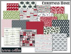 can't wait to get a better look at this line -- theresa collings christmas home