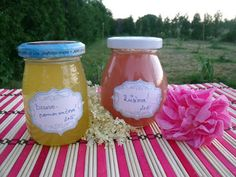 MishaBeauty - DIY kosmetika: Růžový a bezovo-pomerančový rosol