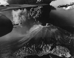 It was 1944 and the Second World War was raging. In Italy, American airmen were stationed at Pompeii Airfield when the debris started falling, but this was no ordinary wartime air raid. The cinder and rock dropping from the sky were being sent forth by the volcano dominating the horizon: Mount Vesuvius. Overhead, bombers wheeled in the air, their pilots' minds turning from the threat of flack to an altogether more pervasive menace – but the damage the planes would be dealt was on the ground.