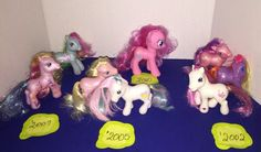 Lot My Little Pony EUC '2002 to '2010 Must See | eBay