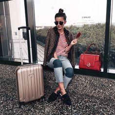 Alexandra Pereira, Alex Love, Airport Style, Airport Fashion, Its A Wonderful Life, Travel Style, Lifestyle Blog, Fashion Outfits, Fashion Ideas
