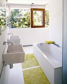 Baño: arquitecto Pascal François http://www.nuevo-estilo.es/especial/383/383_1a_5.shtml