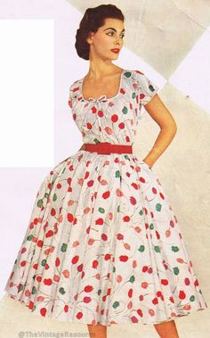 Bates Fabrics 1954
