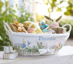 Peter Rabbit™ Easter Baskets & Liner #pbkids
