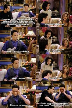 The one where Rachel finds out.....saw this episode the other day. No matter how many times I see I get excited all over again for Ross and Rachel