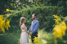 Outdoor Weddings: Erica & Brandon | Lapping Park, IN - http://www.diyweddingsmag.com/outdoor-weddings-erica-brandon-lapping-park/ | Photographer:  Sarah Katherine Davis Photography