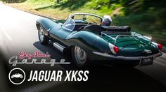 One of a kind-  great intro to Peterson Museum too- while I watch the Sand Pebbles with Steve- Steve McQueen's 1956 Jaguar XKSS - Jay Leno's Garage