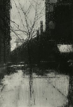 Josef Sudek - Scene From the Window of My Atelier. 1940's