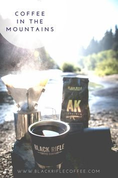 BLACK RIFLE COFFEE COMPANY - get to drinking outside! enjoy the summer & start the adventure right! #BlackRifleCoffee #AmericasCoffee